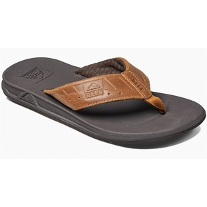 2019 Reef Mens Phantom Sandals / Flip Flops Black / Brown RF002025